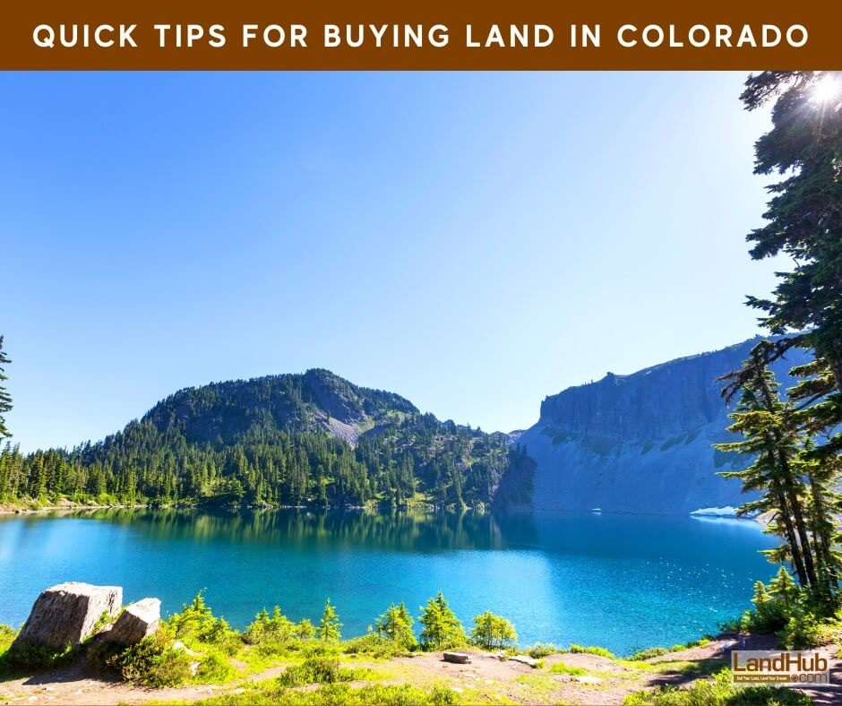 Quick Tips for Buying Land in Colorado