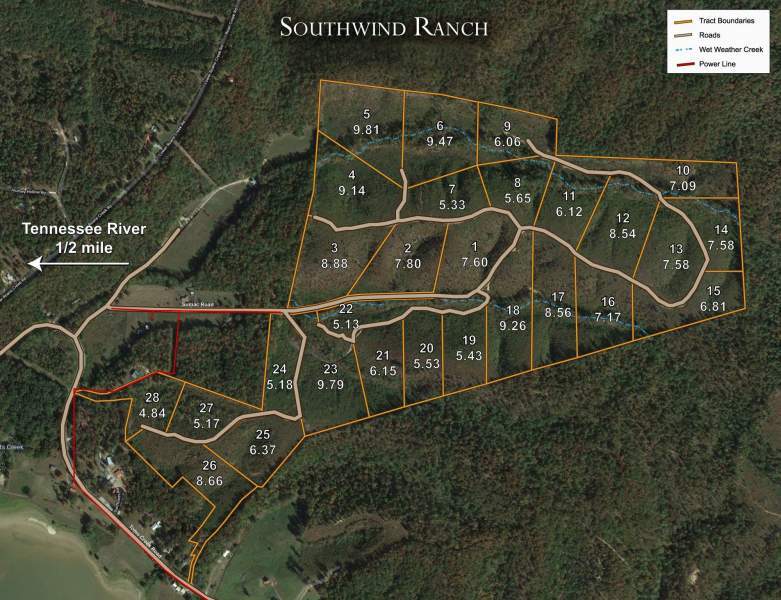 Lot 19 Southwind Ranch,Linden,Tennessee 37096,Lot 19 Southwind Ranch,161695