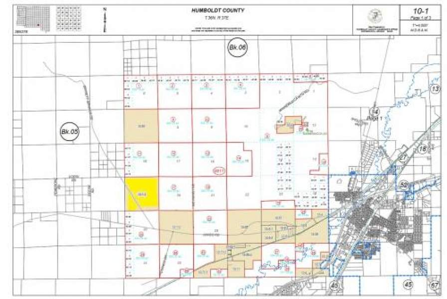 Lot 4 of Map of Section 19 T36N R37E,Winnemucca,Nevada 89445,Lot 4 of Map of Section 19 T36N R37E,1086